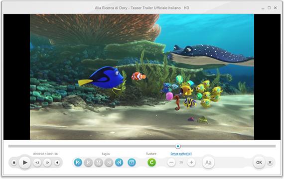 freemake video converter schermata iniziale